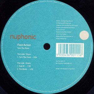 Faze Action - Turn The Point - Nuphonic - NUX 111