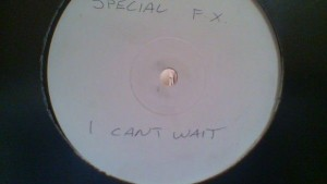 Special FX - I Can't Wait - Not On Label - FX001