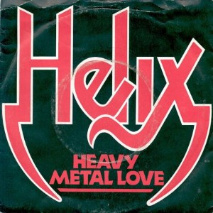 Helix - Heavy Metal Love - Capitol Records - CL 314