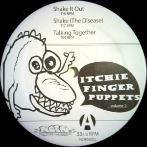 Itchie Finger Puppets - Itchie Finger Puppets Volume 2 - Nokn - NOKN002
