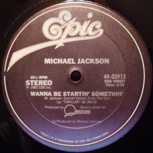 Michael Jackson - Wanna Be Startin' Somethin' - Epic - 49-03915