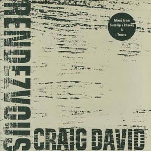 Craig David - Rendezvous - Wildstar Records - 12WILD36GPX