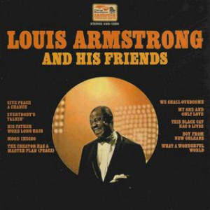 Louis Armstrong - And His Friends - Flying Dutchman - AM-12009, Amsterdam - AM-12009