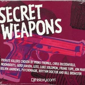 Various - Secret Weapons - DJ History - DJHIST002CD
