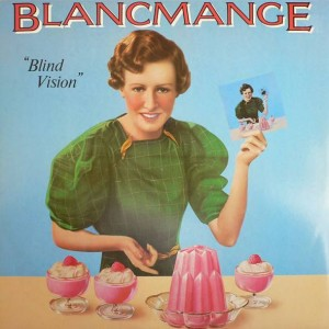 Blancmange - Blind Vision - London Records - BLANX 5, London Records - Blanx 5