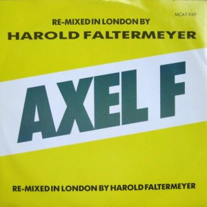 Harold Faltermeyer - Axel F (The London Mix) - MCA Records - MCAT 949