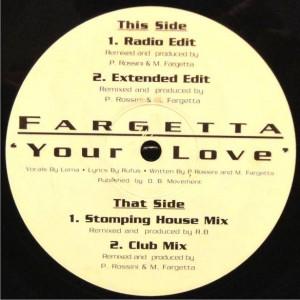 Fargetta - Your Love - X:treme Records - XTR12