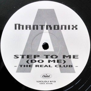 Mantronix - Step To Me (Do Me) - Capitol Records - 12CLDJ 613