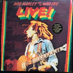 Bob Marley & The Wailers - Live! - Island Records - ILPS 9376