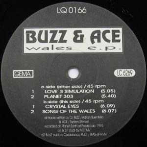 Buzz & Ace - Wales E.P. - Liquid Rec. - LQ 016-6
