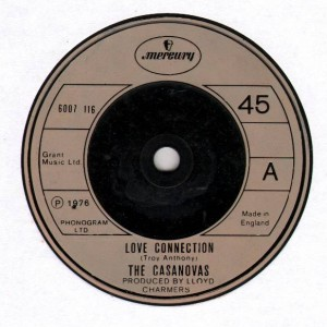 The Casanovas - Love Connection - Mercury - 6007 116