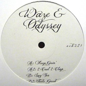 Waze & Odyssey - 2 Cool 2 Clap EP - Southern Fried Records - ecb321