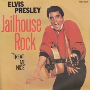 Elvis Presley - Jailhouse Rock - RCA Victor - RCA 2695, RCA Victor - RCA 1028