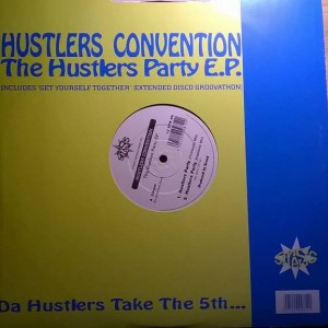 Hustlers Convention - The Hustlers Party EP - Stress Records - 12 STR 28