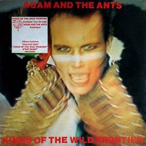 Adam And The Ants - Kings Of The Wild Frontier - CBS - 84549, CBS - CBS 84549, CBS - S CBS 84549