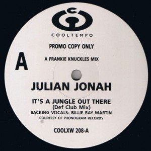 Julian Jonah - It's A Jungle Out There - Cooltempo - COOLXW 208