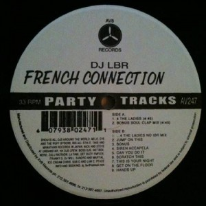 DJ LBR - French Connection Vol 7 - AV8 - AV 247