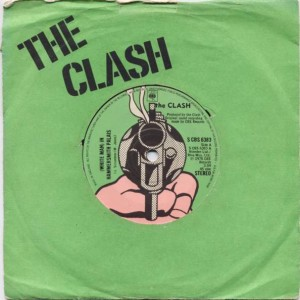 The Clash - (White Man) In Hammersmith Palais - CBS - S CBS 6383, CBS - 6383