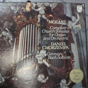 Wolfgang Amadeus Mozart - Complete Church Sonatas For Organ And Orchestra - German Bach Soloists - Philips - 6500 516/517