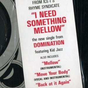 Domination - I Need Something Mellow - Rhyme $yndicate Records - 49 73144