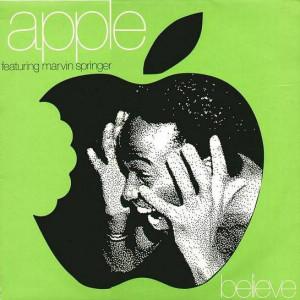 Apple Featuring Marvin Springer - Believe - Ninja Tune - ZEN 1215
