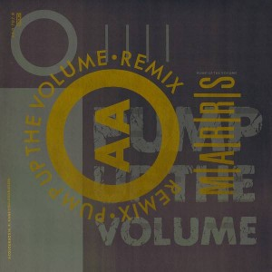M|A|R|R|S - Pump Up The Volume (Remix) - 4AD - BAD 707 R
