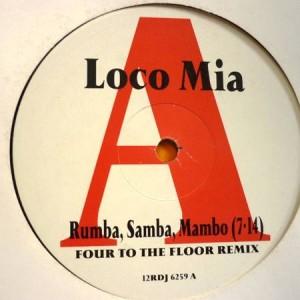 Loco Mia - Rumba, Samba, Mambo - Parlophone - 12RDJ 6259