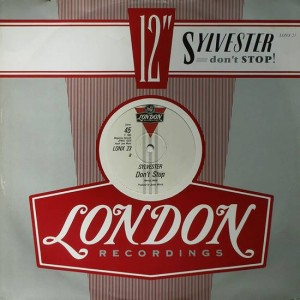 Sylvester - Don't Stop - London Records - LONX  23