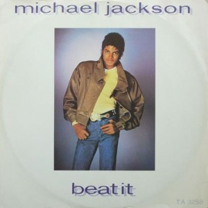 Michael Jackson - Beat It - Epic - TA 3258