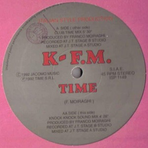 K-F.M. - Time - Italian Style Production - ISP 1149