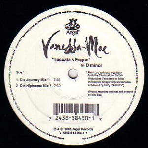 Vanessa-Mae - Toccata & Fugue In D Minor - Angel Records - 58450-1