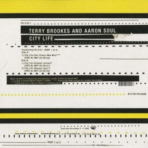 Terry Brookes & Aaron Soul - City Life (Part 1) - Rush Hour Recordings - RH019-1