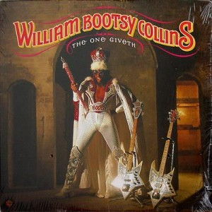 Bootsy Collins - The One Giveth, The Count Taketh Away - Warner Bros. Records - BSK 3667