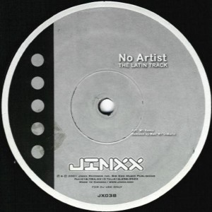 No Artist - The Latin Track - Jinxx Records - JX 038