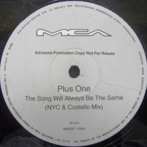 Plus + One - The Song Will Always Be The Same - MCA Records - WMCST 1535