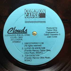Clouds - ¡Llegamos! - Common Cause Records - CCLPS 13001