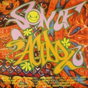 Various - Son Of Acido - Trax Records - ACIDLP 801, Radical Records - ACIDLP 801