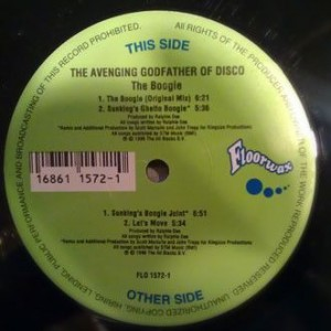 The Avenging Godfather Of Disco - The Boogie - Floorwax - FLO 1572-1