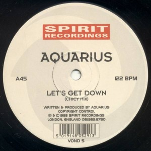 Aquarius - Let's Get Down - Spirit Recordings - VOND 5