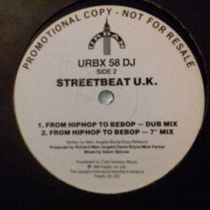Streetbeat U.K. - From Bebop To Hiphop - Urban - URBX 58 DJ
