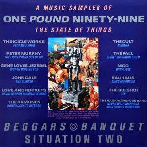 Various - One Pound Ninety-Nine - A Music Sampler Of The State Of Things - Beggars Banquet - BBB 1, Situation Two - BBB 1