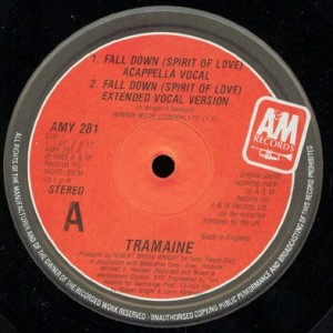 Tramaine - Fall Down (Spirit Of Love) - A&M Records - AMY 281