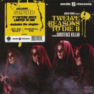 Ghostface Killah & Adrian Younge - Twelve Reasons To Die II (Serato Control Vinyl) - Linear Labs - LL BOX 002-7, Serato Pressings - LL BOX 002-7