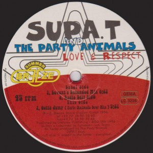 Supa. T And The Party Animals - Love & Respect - Summer Breeze - SB 005