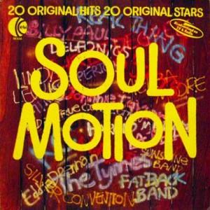 Various - Soul Motion - K-Tel - NE930, K-Tel - NE 930