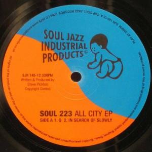 Soul 223 - All City EP - Soul Jazz Records - SJR 145-12