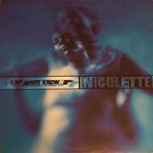 Nicolette - We Never Know - Talkin' Loud - TLDJ18