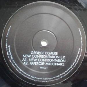 George Demure - New Confrontation E.P. - Tirk - TIRK021