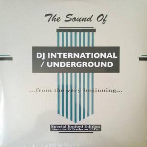 Various - The Sound Of DJ International / Underground  - D.J. International Records - DJISX-1001X