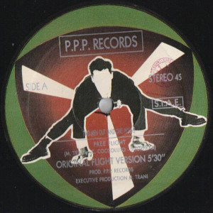 Two Men Out And One Inside - Free Flight - P.P.P. Records - PPP2